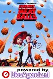 Cloudy with a Chance of Meatballs poster, copyright in handen van productiestudio en/of distributeur