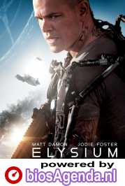 Elysium poster, © 2013 Universal Pictures International