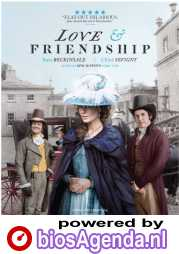 Love & Friendship poster, © 2016 Cinéart