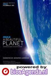 A Beautiful Planet poster, copyright in handen van productiestudio en/of distributeur