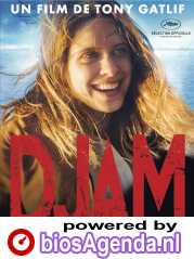 Djam poster, copyright in handen van productiestudio en/of distributeur