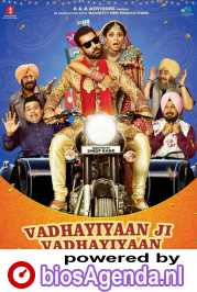 Vadhayiyaan Ji Vadhayiyaan poster, copyright in handen van productiestudio en/of distributeur