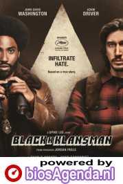 BlacKkKlansman poster, © 2018 Universal Pictures International