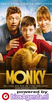 Monky poster, © 2017 In the air