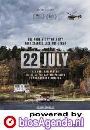 22 July poster, copyright in handen van productiestudio en/of distributeur