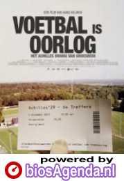 Voetbal is oorlog poster, copyright in handen van productiestudio en/of distributeur