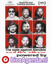 The State Against Mandela and the Others poster, © 2018 Amstelfilm