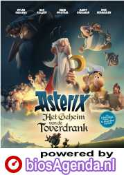 Asterix: The Secret of the Magic Potion poster, © 2018 Entertainment One Benelux