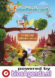 De Fabeltjeskrant & De Grote Dierenbos-spelen poster, copyright in handen van productiestudio en/of distributeur