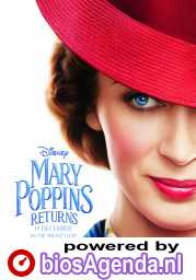 Mary Poppins Returns poster, © 2018 Walt Disney Pictures