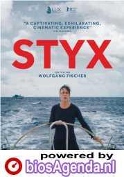 Styx poster, copyright in handen van productiestudio en/of distributeur