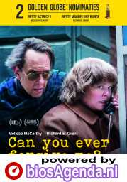 Can You Ever Forgive Me? poster, © 2018 20th Century Fox