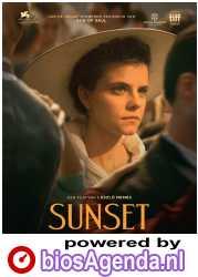 Sunset poster, © 2018 Cinéart