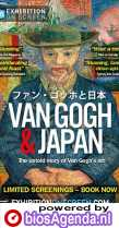 Van Gogh & Japan poster, copyright in handen van productiestudio en/of distributeur